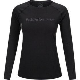Peak Performance Gallos Co2 - T-shirt manches longues Femme - noir